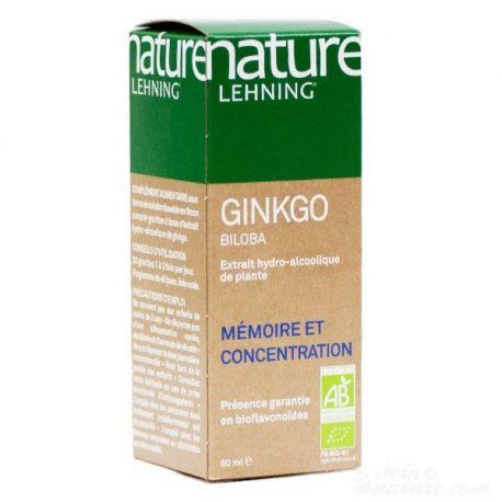 NATURA Lehning Ginkgo biloba AB Estratto idroalcolico 60ml