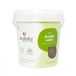 Argiletz Pâte d'Argile Verte 1kg