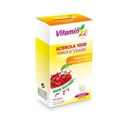 Ineldea Vitamin'22 Acérola 1000 Tonus et Vitalité