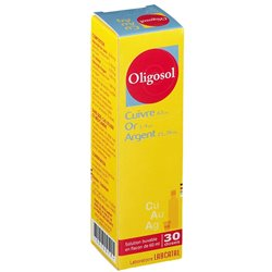 Oligosol Koper Goud Zilver CU-OF-AG oligotherapie FL 60ML LABCATAL