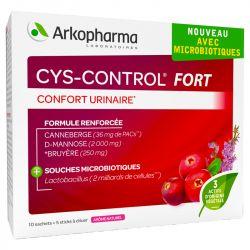 Fort Cys controle urinário Conforto Arkopharma 14 Bags