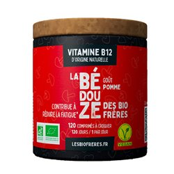 Les Frères Bio Bédouze Bio Vitamine B12 goût Pomme