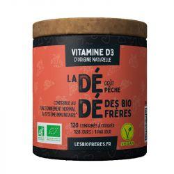 Les Frères Bio Dédé Bio Vitamine D3 goût Abricot