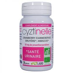 Cystinelle Genes urinaire LT Lab 30 capsules