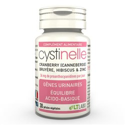 Cystinelle Genes urinary LT Lab 30 cápsulas
