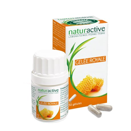 NATURACTIVE Gelée royale 30 ou 60 capsules