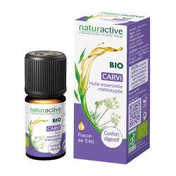 Olio essenziale chemiotipato biologico naturattivo CARVI 5ml