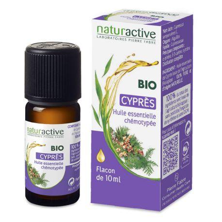 Naturactive Huile Essentielle Bio Chémotypée Cyprès 10ml