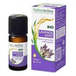 Naturactive ASPIC Lavanda Aceite Esencial Orgánico Quimiotipado 10ml