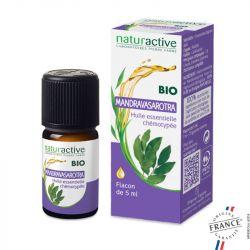 Olio essenziale organico chemiotipato naturattivo MANDRAVASAROTRA 5ml