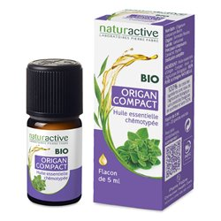 Naturactive Biologische Chemotyped Essentiële Olie ORIGAN 5ml