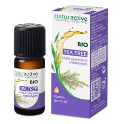 TEA TREE 10ml di olio essenziale biologico chemotipato Naturactive