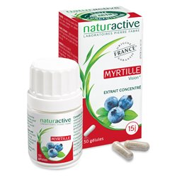 NATURACTIVE Blueberry 30 capsules