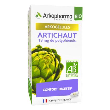 Arkogelules Alcachofra Digestão e trânsito Arkopharma / 45/150