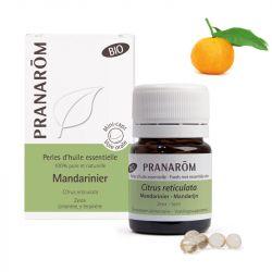 PRANAROM Mandarine bio 60 perles d'huile essentielle