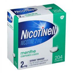 Nicotinell Mint 2 mg 204 tabletas chupan