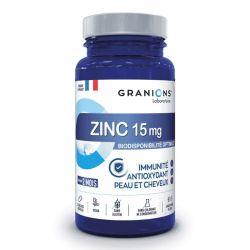 Granions Zinc 15mg Immunité et Antioxydant Peau et Cheveux