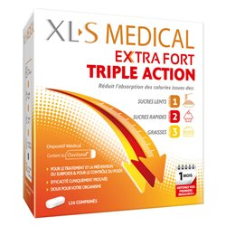 XLS MEDICAL EXTRA STRONG 40/120 TABLETS