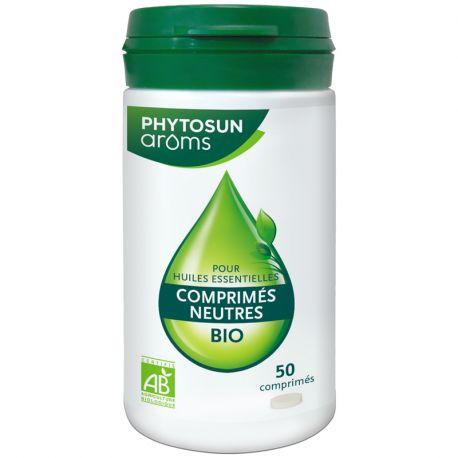 Neutrale tabletten voor de essentiële oliën PhytoSun AROM 45 CPS