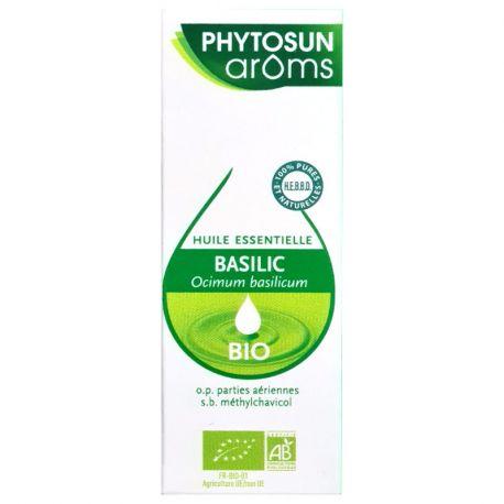 Huile essentielle BASILIC GRAND VERT 10ML PHYTOSUN AROMS
