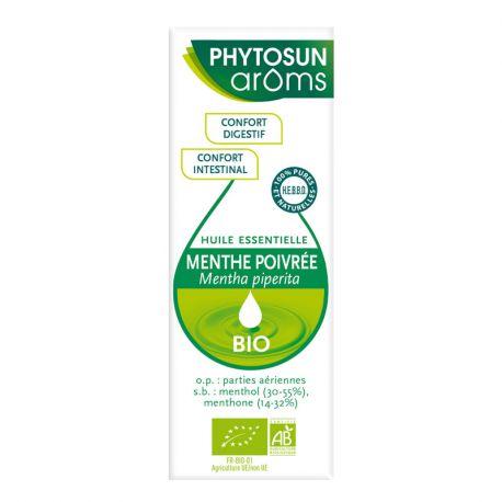 Menta piperita di menta piperita di olio essenziale organico Phytosun Aroms Mentha