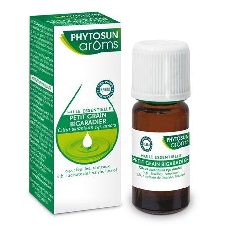 PHYTOSUN AROMS ESSENTIAL OIL CITRUS AURANTIUM Petitgrain bitter orange leaves 10 ml
