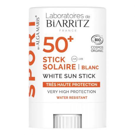 Alga Maris Stick Solaire Bio Spf 50+ pour Sportif Biarritz 12g