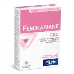 PILEJE Feminabiane CBU COMFORT URINÁRIA 28 cápsulas:
