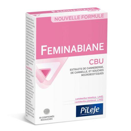 PILEJE Feminabiane CBU urinary comfort 28 CAPSULES