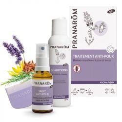 Aromapoux traitement anti-poux bio Duo Pack Pranarom