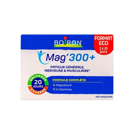 BOIRON MAGNESIUM 300+ stress fatigue surmenage