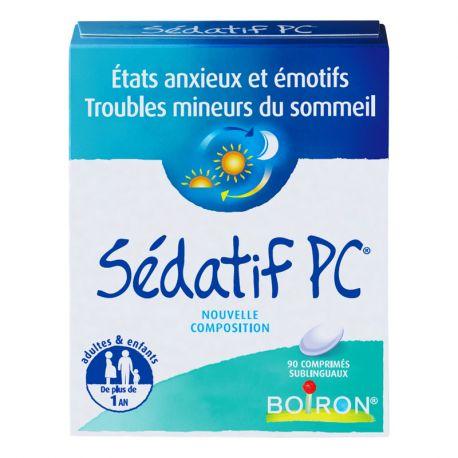 SEDATIF PC Boiron 90 Comprimés Homéopathie
