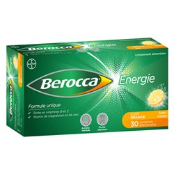 Berocca Energie TABLETS WITHOUT SUGAR SPARKLING BAYER