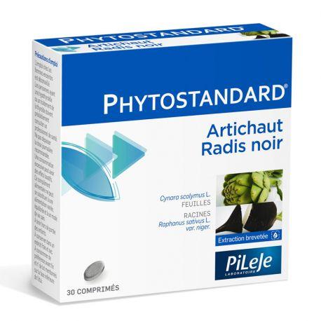 Phytostandard ALCACHOFA NEGRO RÁBANO 30 CPR Pileje