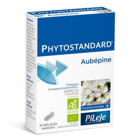 Phytostandard AUBÉPINE BIO 20 gélules Pileje