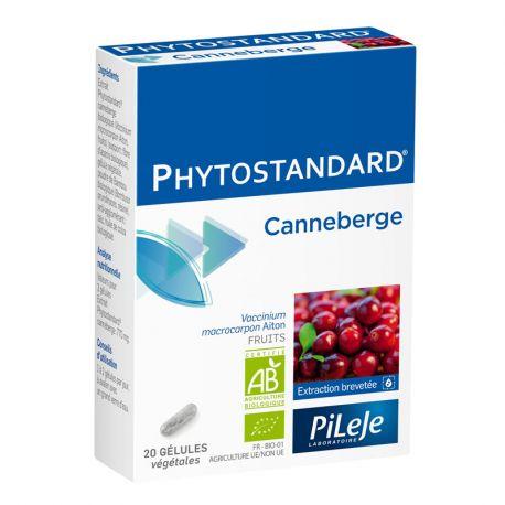 Phytostandard CANNEBERGE BIO 20 gélules Pileje