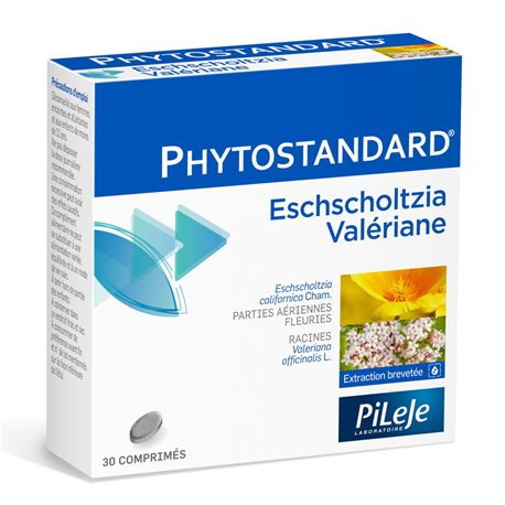 Phytostandard Eschscholtzia Valériane 30 CPR Pileje