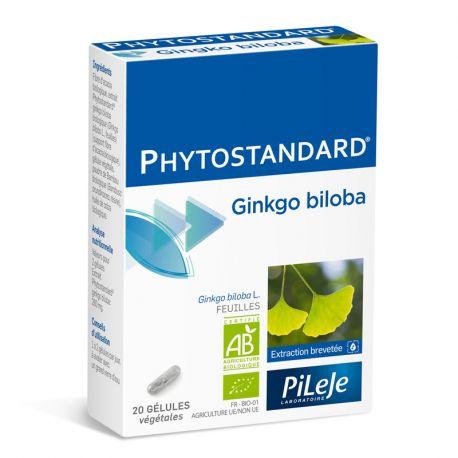 Phytostandard GINKGO BIO 20 GEL Pileje EPS