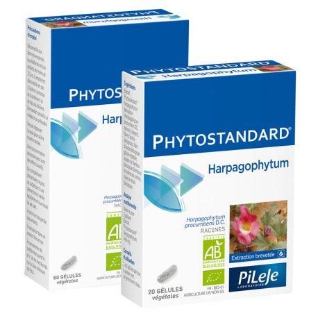 Phytostandard HARPAGOPHYTUM BIO 20 gélules Pileje