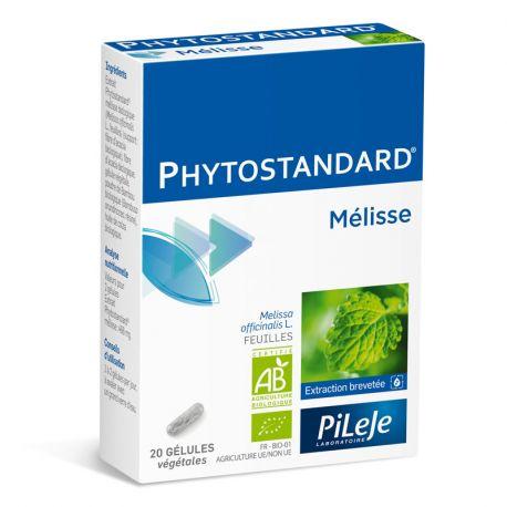 Phytostandard Mélisse BIO 20 gélules Pileje