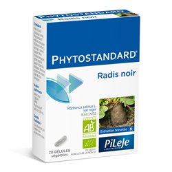Phytostandard NEGRO RÁBANO BIO EPS Pileje 20 GEL