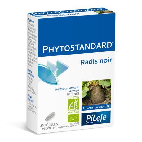 Phytostandard RADIS NOIR BIO 20 gélules Pileje
