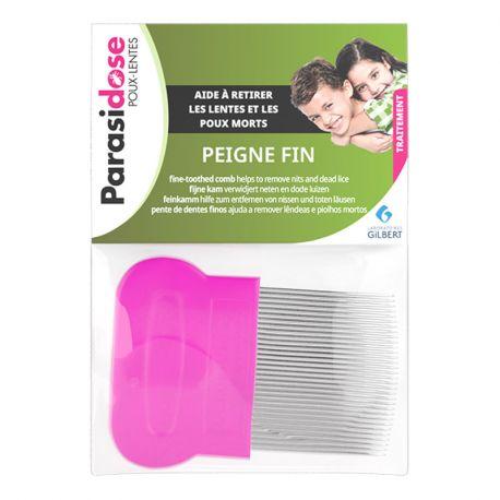 Parasidose Peigne à poux fin
