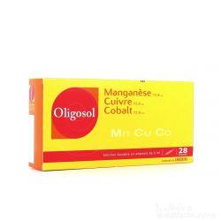 Oligosol MANGANESE-cobre-cobalto (Mn-Cu-Co) 14 LÂMPADAS Minerals & Trace Elements
