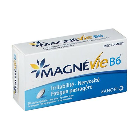 MAGNEVIE B6 TABLETS magnésio 60 SANOFI