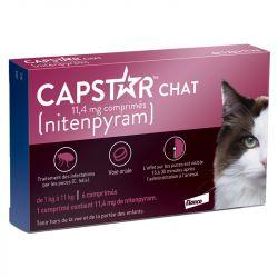 Capstar Cat Flea Control 6 comprimidos