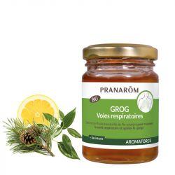 Organic honey for grog with essential oils Natural Defense PRANAROM