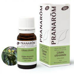 Huile essentielle BIO Litsée citronnée PRANAROM 10ml
