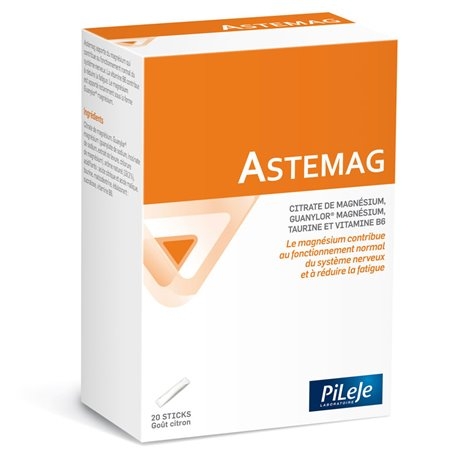 PILEJE ASTEMAG 20 STICKS de 4 g
