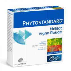 PHYTOSTANDARD MELILOT VIGNE ROUGE 30 CPR PHYTOPREVENT